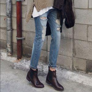 FRYE Women's Melissa Chelsea bootie